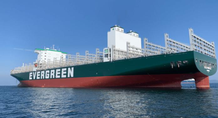 Her er Verdens nye største containerskib