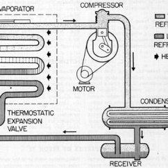 Parts Of A Submarine Diagram Crayfish Internal Anatomy Refrigeration And Air Conditioning Systems Chapter 6 Figure 1 Mechanical Cycle