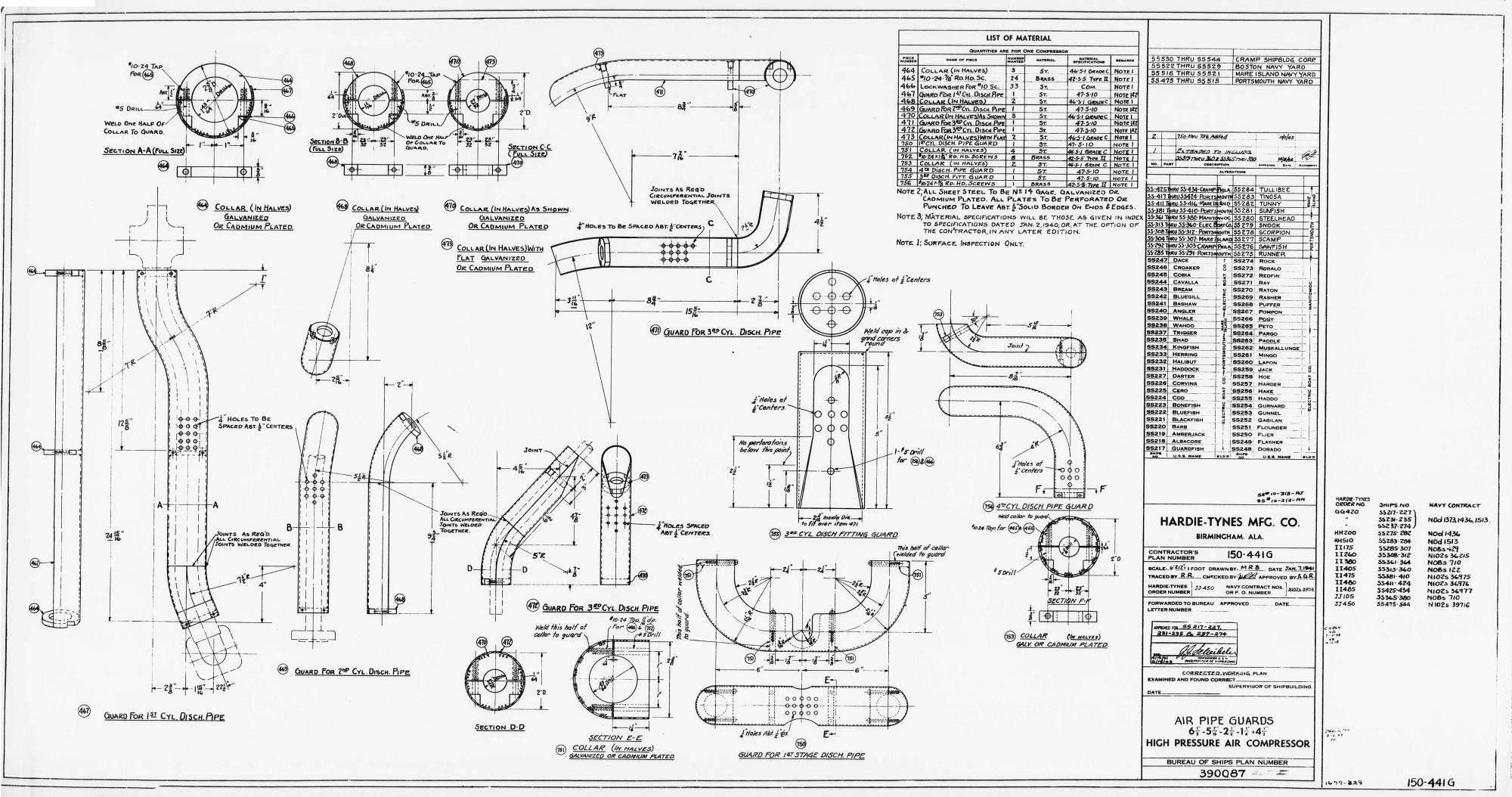 hight resolution of hp air hardie tynes air pipe guards basic390087 32429 11 0052 jpg