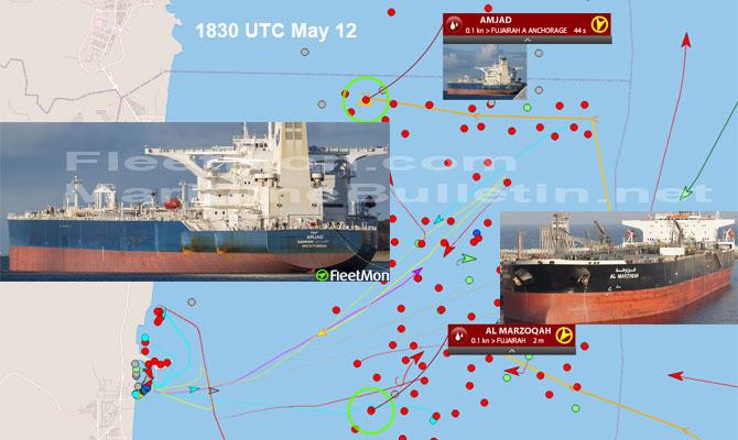 "2 Saudi Tankers Suffer Heavy Damage In UAE ""Sabotage"