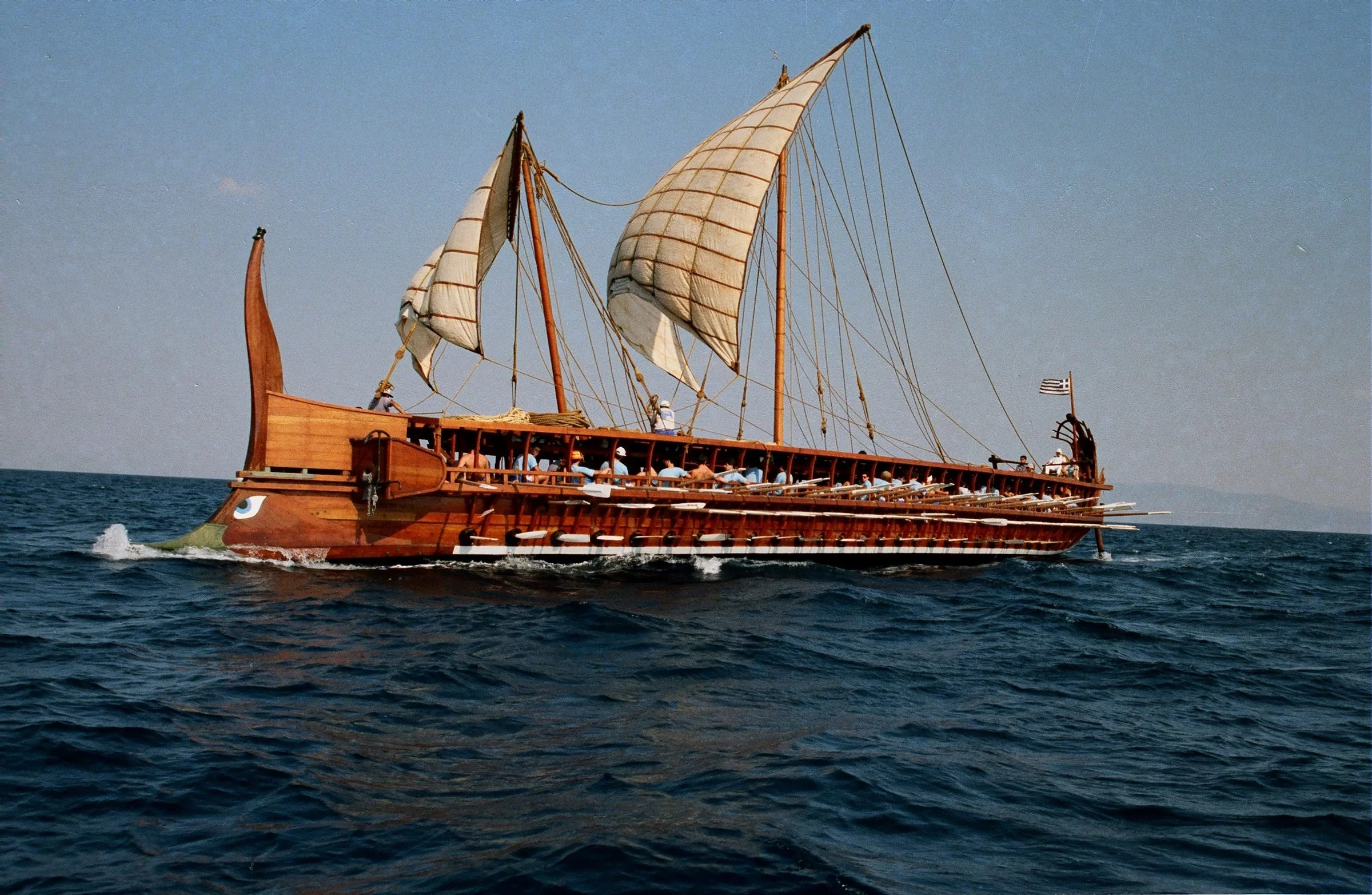 small resolution of trireme olympias the reconstructed trireme