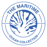 Maritime Ocean Collection Shortened Logo_Blue Transparent_PNG