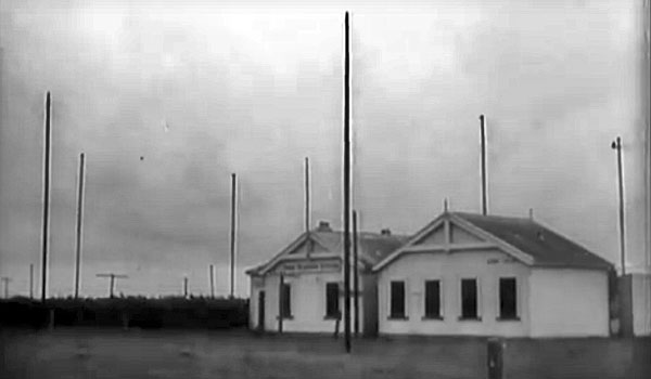Chatham Islands Radio ZLC in 1947