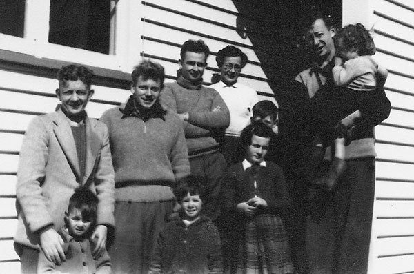 At Chatham Islands Radio in 1957
