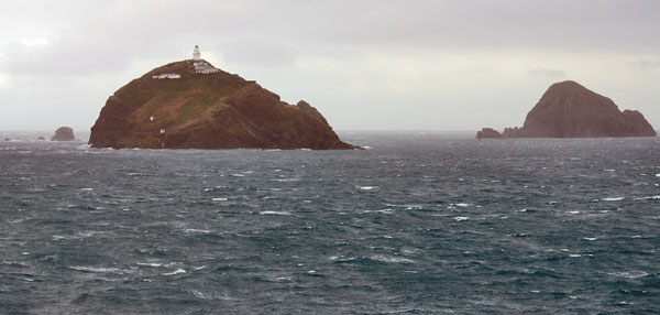 The Brothers Islands in Cook Strait