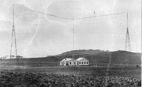 Chatham Islands wireless station in 1913
