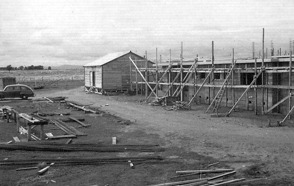 Construction at Himatangi Radio