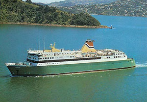 New Zealand Railways ferry Arahura