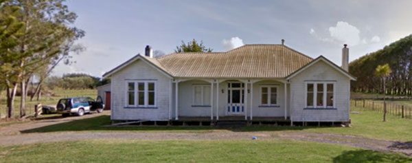 112 Wireless Rd, the original Officers' Quarters for Awanui Radio