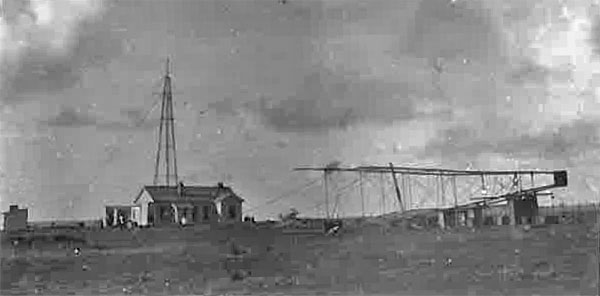 Raising the second tower at Chatham Islands wireless station