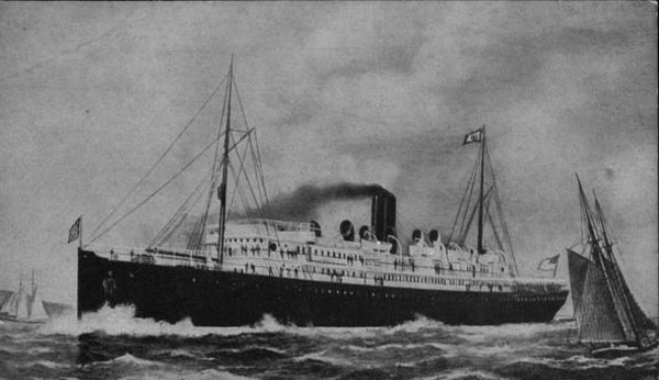 The 10,000 ton liner SS Sonoma