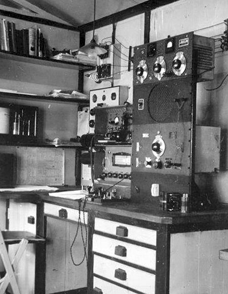 Campbell Island radio station, 1941-1945