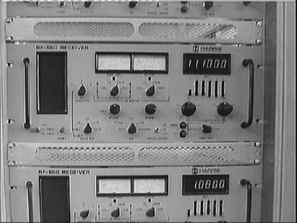 Harris RF550 recievers were installed at Makara Radio in the mid 1970s