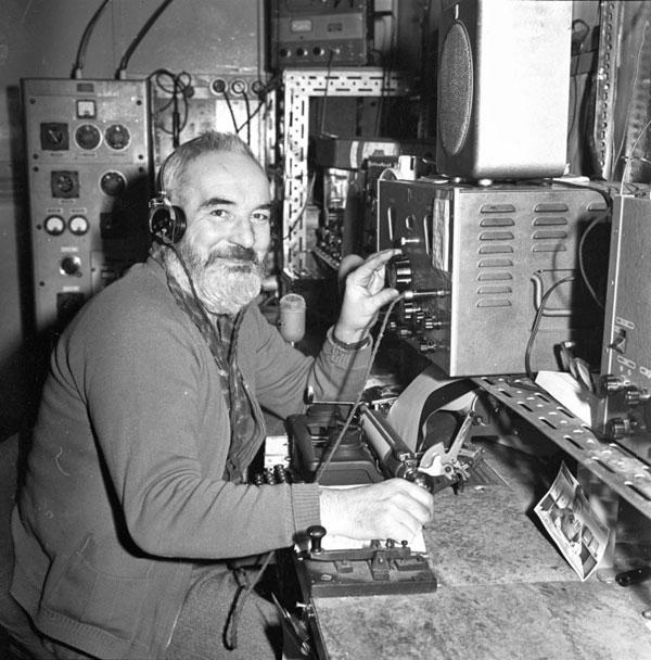Scott Base radio room 1961-1962