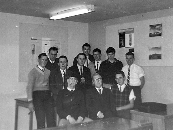 NZPO trainees at Rugby St school, Nov 1963