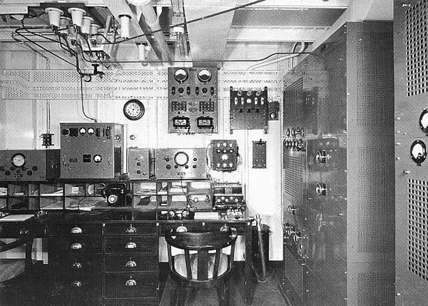 Radio room aboard TSS Awatea ZMBJ