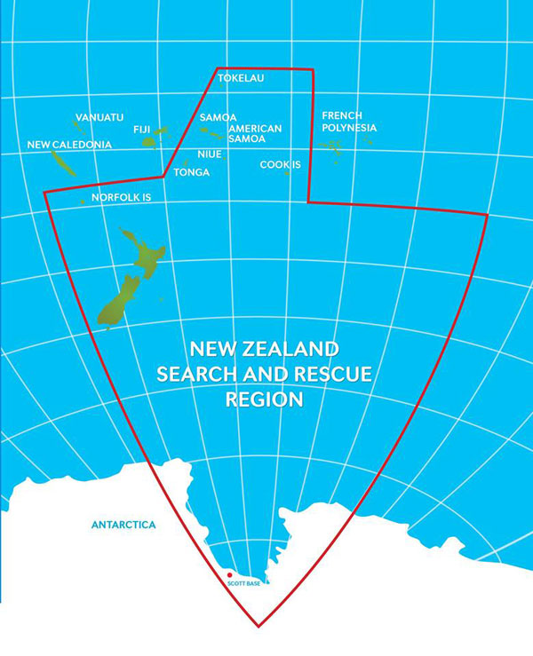 Taupo Maritime Radio covers international NAVAREA XIV using MF and HF