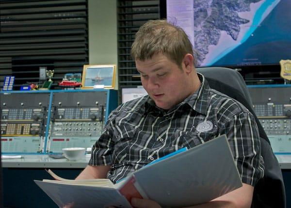 Nik Burt, Taupo Maritime Radio, 15 Aug 2010