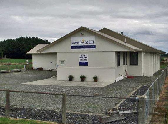 The Awarua Communications Museum is located in the Awarua Radio transmitter building