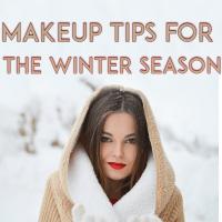 Top 4 Makeup Tips for the Winter Season