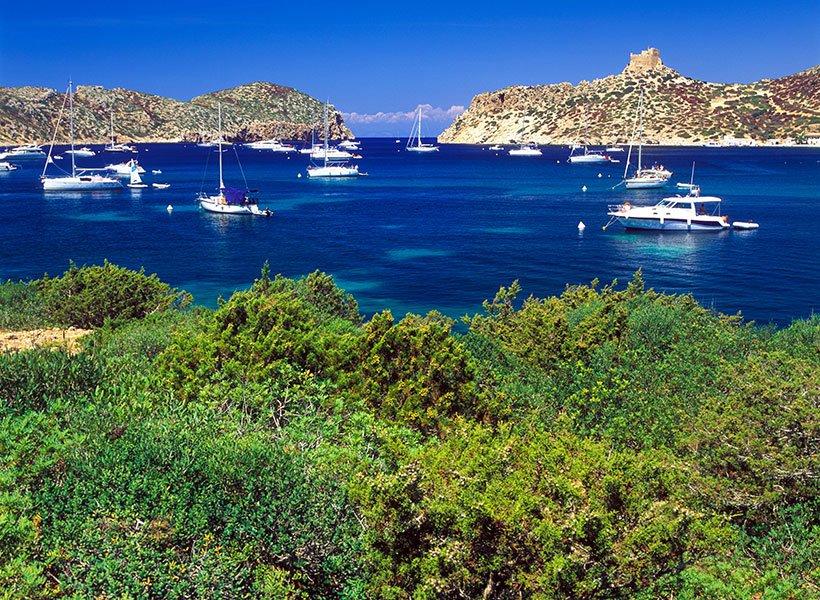 Illa de Cabrera Spania