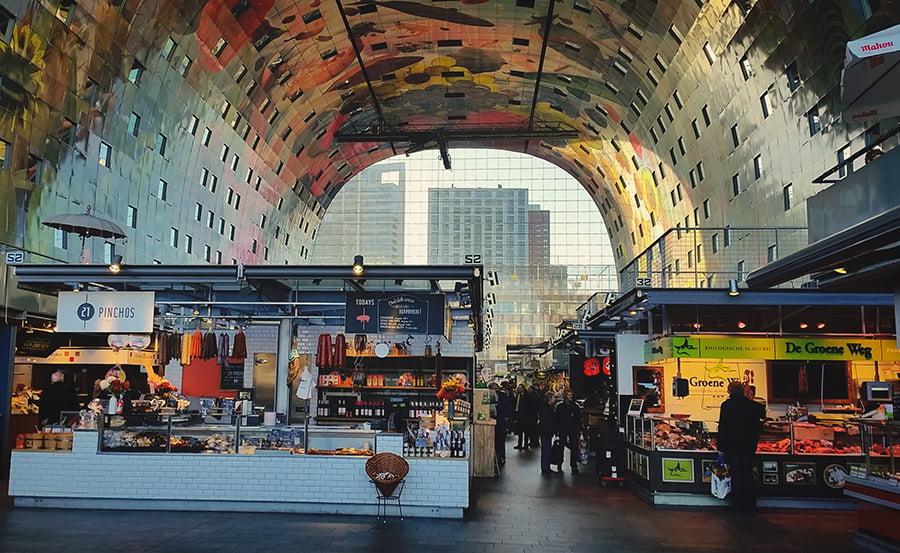 Markthal Rotterdam - Olanda
