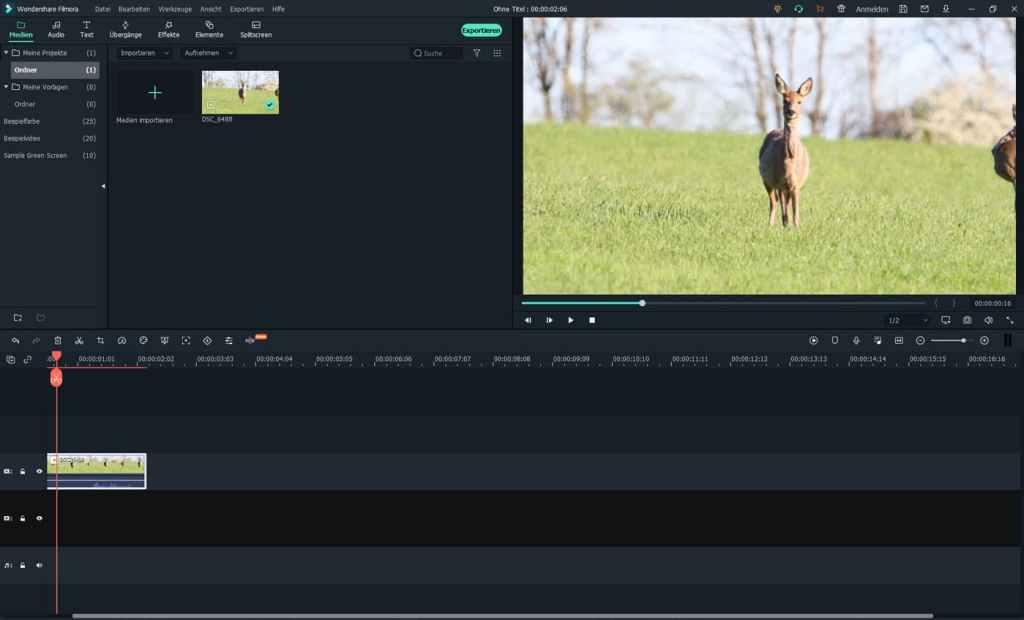 Wondershare Filmora - editor video