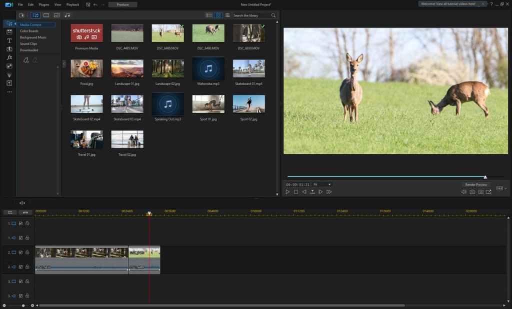 CyberLink PowerDirector 365 - video editor