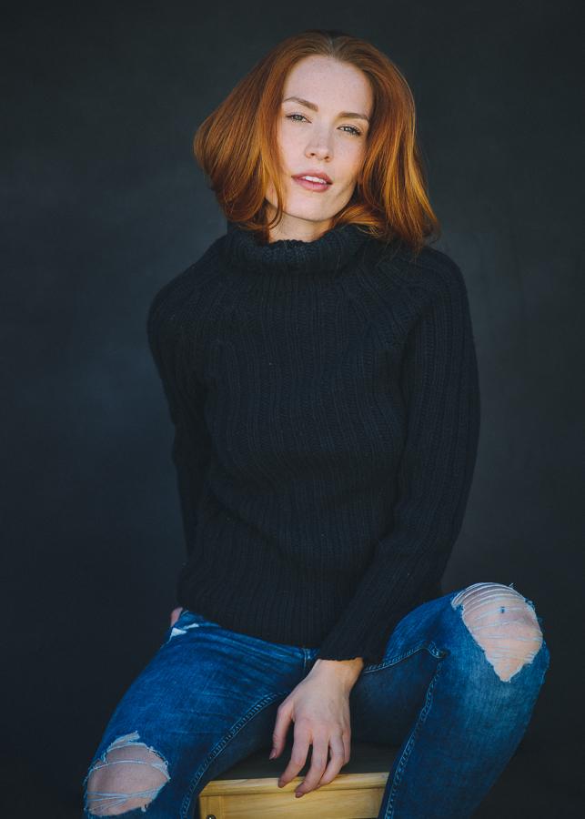 Modeling Portraits  Clancy McLain