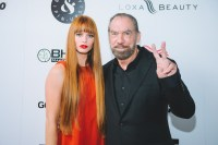 Paul Mitchell and Chloe Hurst - Global Beauty Masters Media Launch at Christopher Guy, Beverly Hills, CA