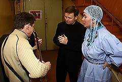 Надежда Уткина (справа) с эстонскими музыкантами