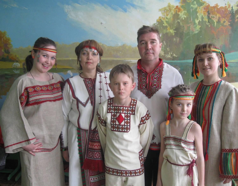 Семья Садовиных из Марий Эл