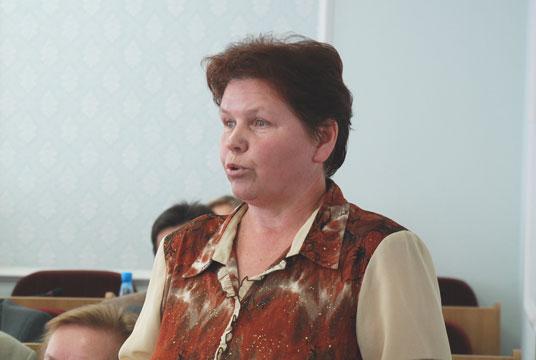 Член фракции КПРФ в Государственном Собрании Республики Марий Эл Петрякова Л.И.