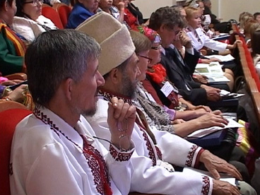 Участники IV съезда финно-угорских народов России