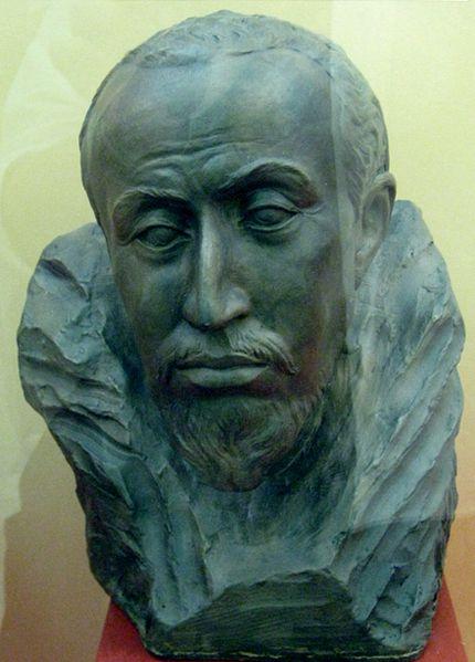 Реконструкция облика Федора Иоанновича. М.Герасимов, 1963.