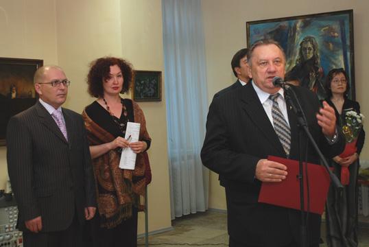 """Открытие выставки """"Край марийский"""", 2008 г."""