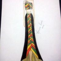Croqui de Moda: África