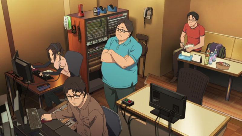Proses pembuatan anime dalam Shirobako