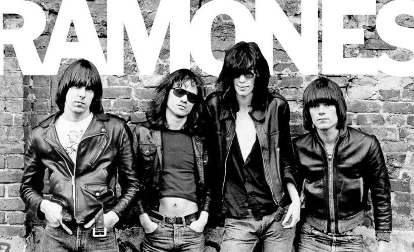 Cover album pertama The Ramones