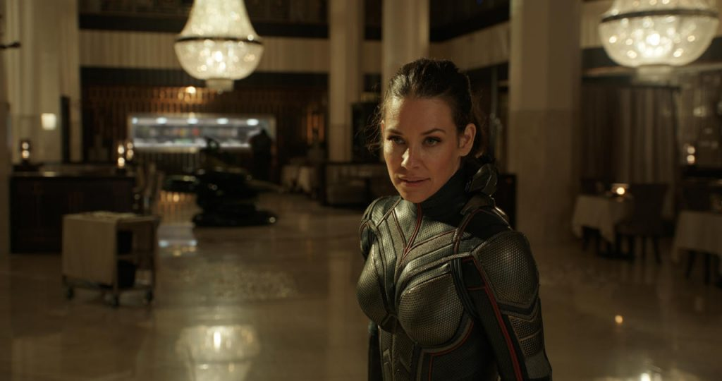 Evangeline Lilly dalam Ant-Man and the Wasp