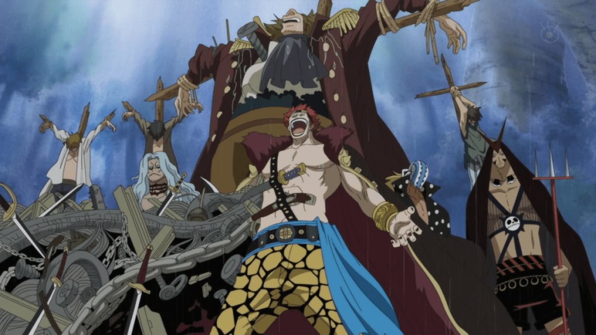 mariviu Eustass_Kid Karakter One Piece Terkuat