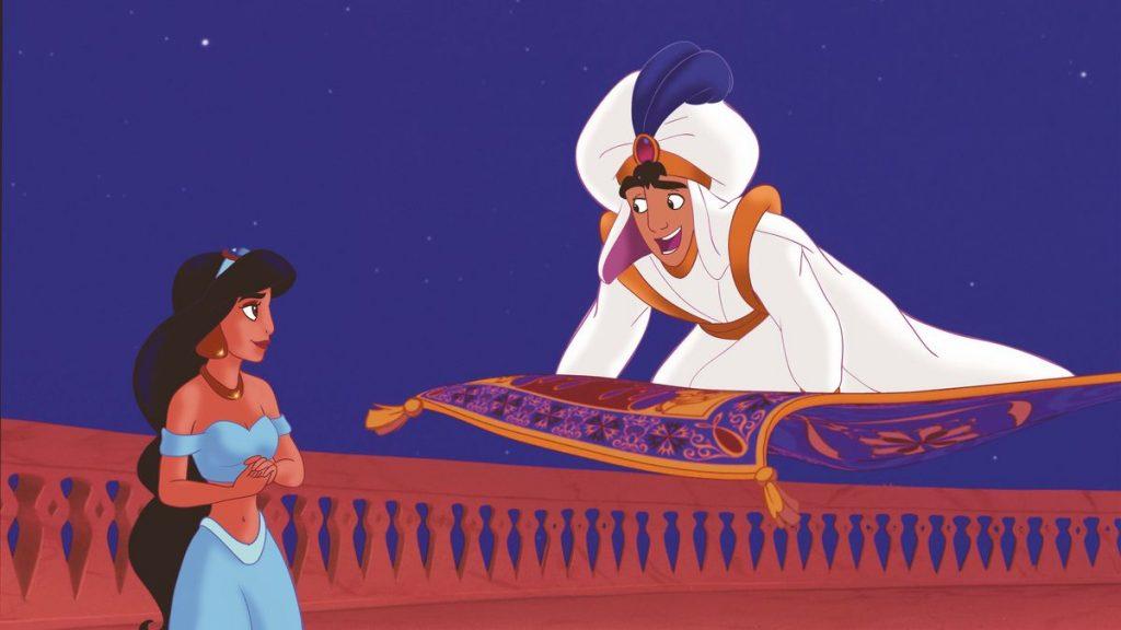 film terbaik animasi Aladdin