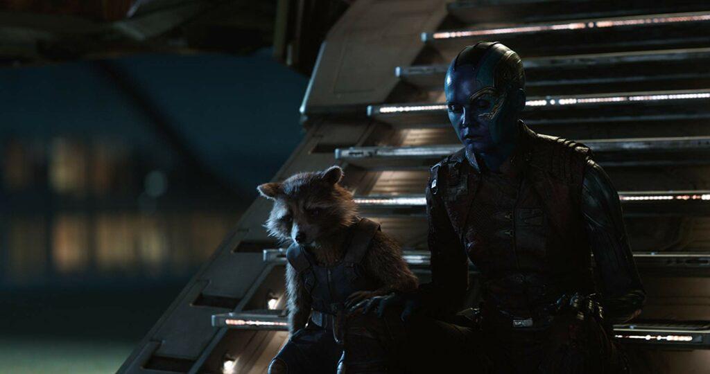 Rocket Raccoon dan Nebula endgame