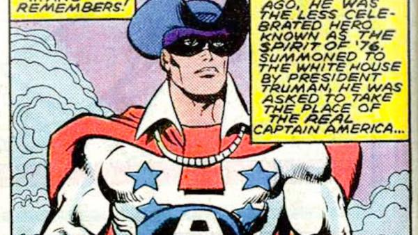 William Naslund pengganti Captain America