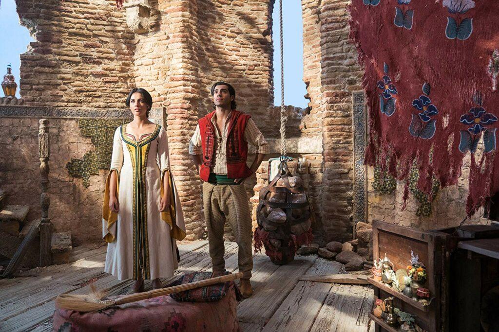 review film Aladdin dan Putri Jasmine