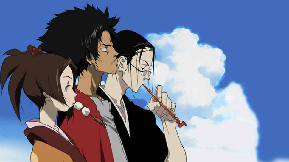 anime Samurai Champloo anime mirip One Punch Man