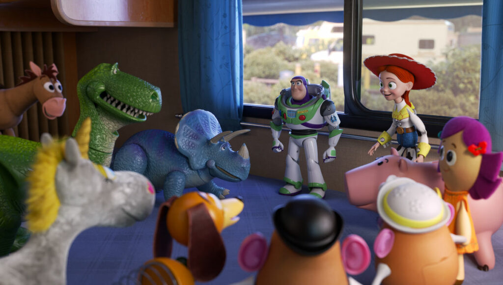 pemain Toy Story 4