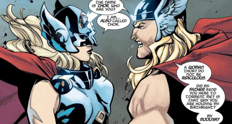 Thor Jane Foster dan Thor Odinson