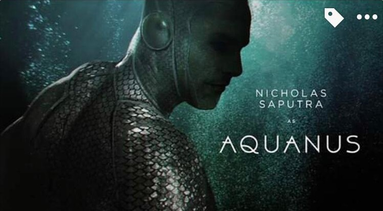 Aquanus dalam superhero BumiLangit Cinematic Universe