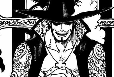 mihawk dalam one piece hcapter 956